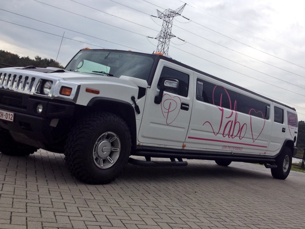 Hummer H2 reclame limo